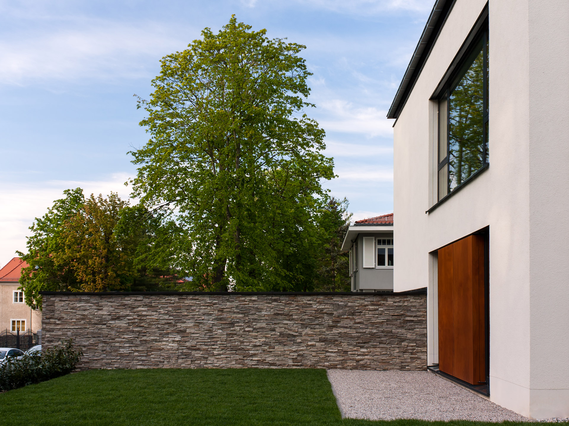 Neubau Einfamilienhaus MLZ