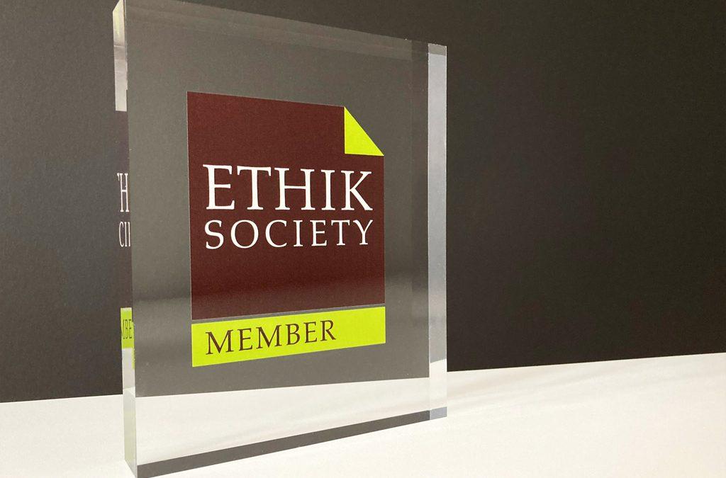 Auszeichnung Ethik Society Member